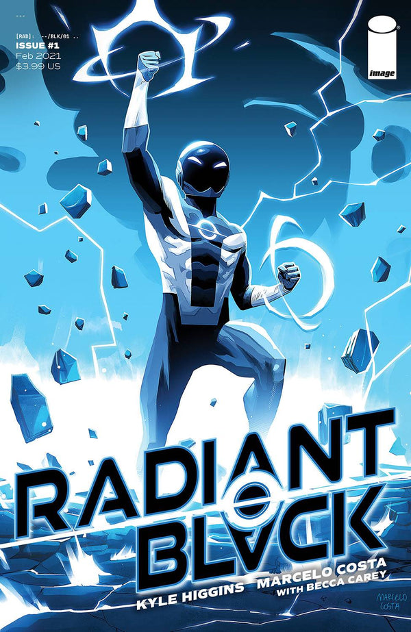 RADIANT BLACK #1 1:10 COSTA VARIANT,  - Slab City Comics - UK Comic Shop