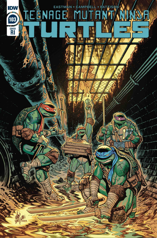TMNT ONGOING #103 1:10  INCENTIVE LOFTI VARIANT