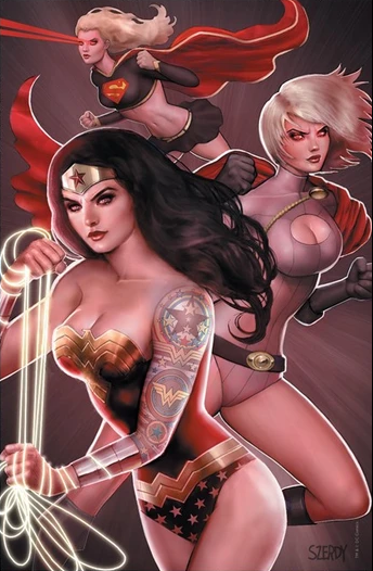 TALES FROM THE DARK MULTIVERSE INFINITE CRISIS SZERDY VARIANT