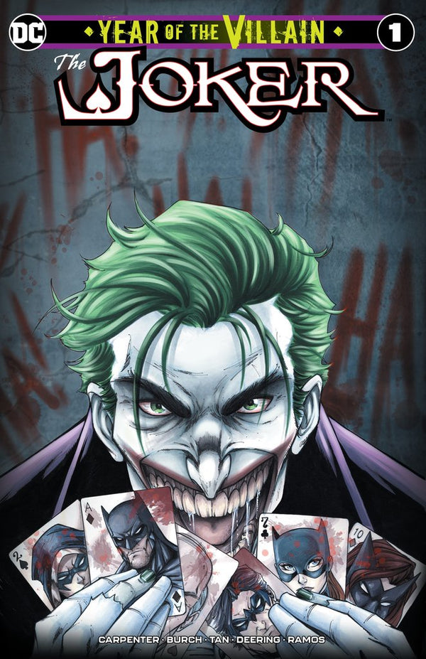 Joker Year Of The Villain #1 Ryan Kincaid Variant Set,  - Slab City Comics - UK Comic Shop