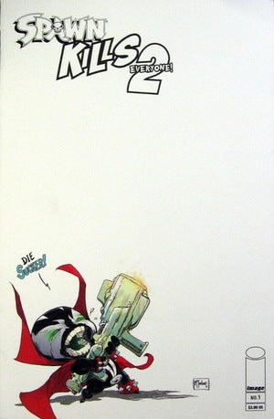 SPAWN KILLS EVERYONE 2 #1 BLANK - Slab City Comics