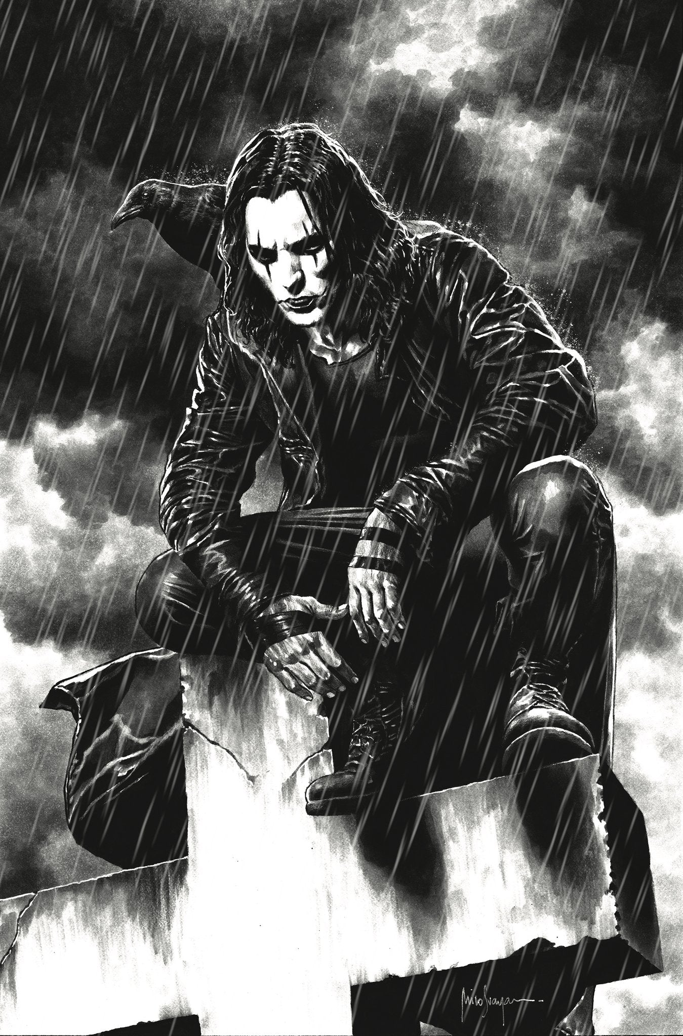 """CROW LETHE #3 MICO SUAYAN """"IT CAN'T RAIN ALL THE TIME"""" EXCLUSIVE VIRGIN VARIANT,  - Slab City Comics - UK Comic Shop"""