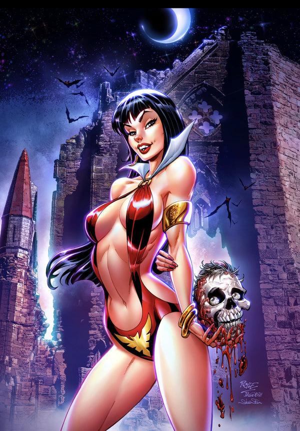 VAMPIRELLA #17 JOHN ROYLE VIRGIN VARIANT - Slab City Comics