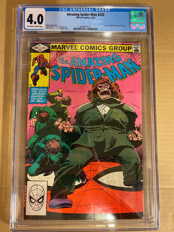 Amazing Spider-man #232 CGC IN STOCK,  - Slab City Comics - UK Comic Shop
