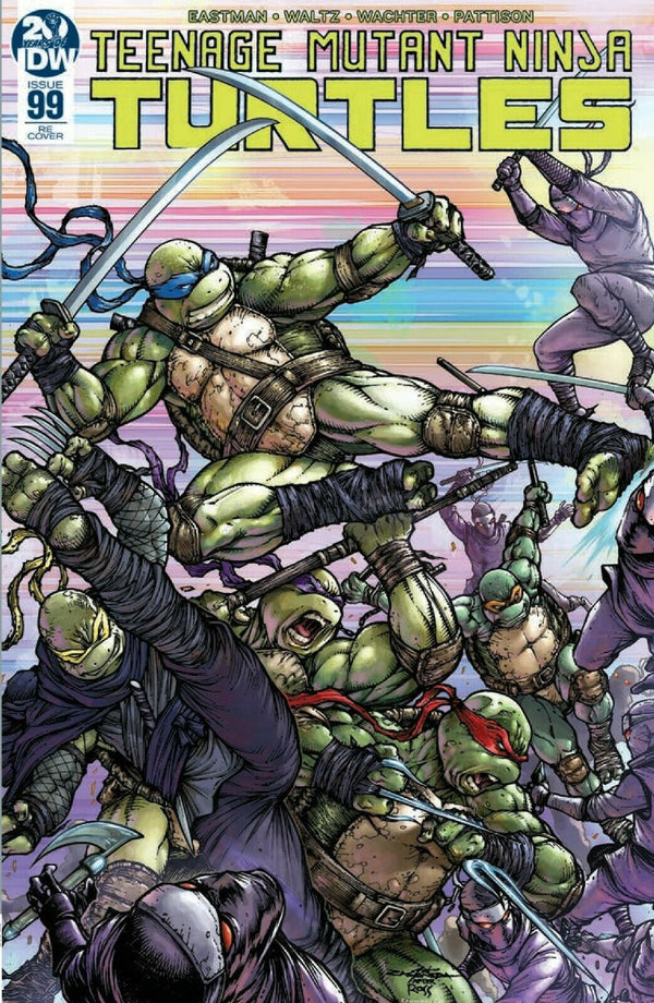 TMNT ONGOING #99 EXCLUSIVE OLIVER CASTANEDA COVER