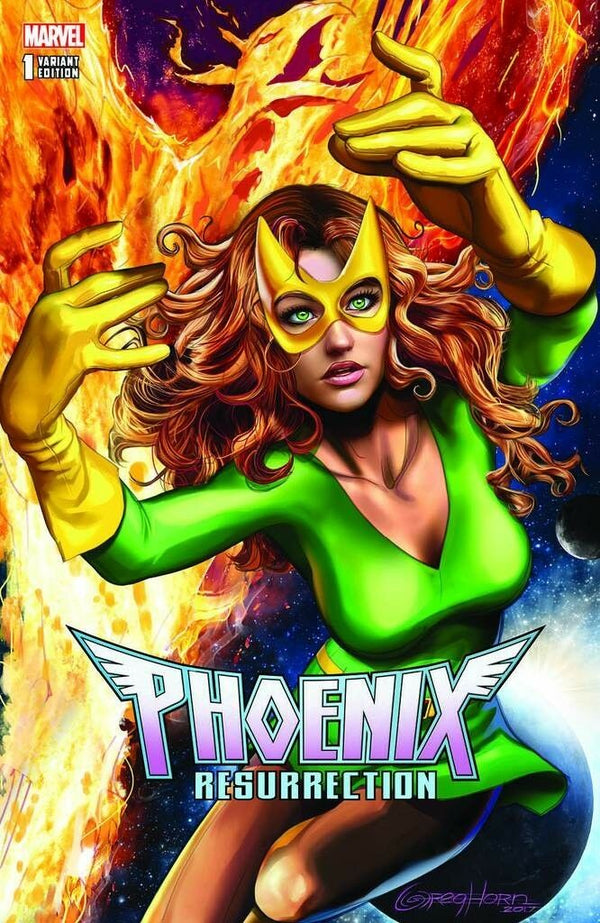 PHOENIX RESURRECTION: RETURN JEAN GREY #1 GREG HORN VARIANT