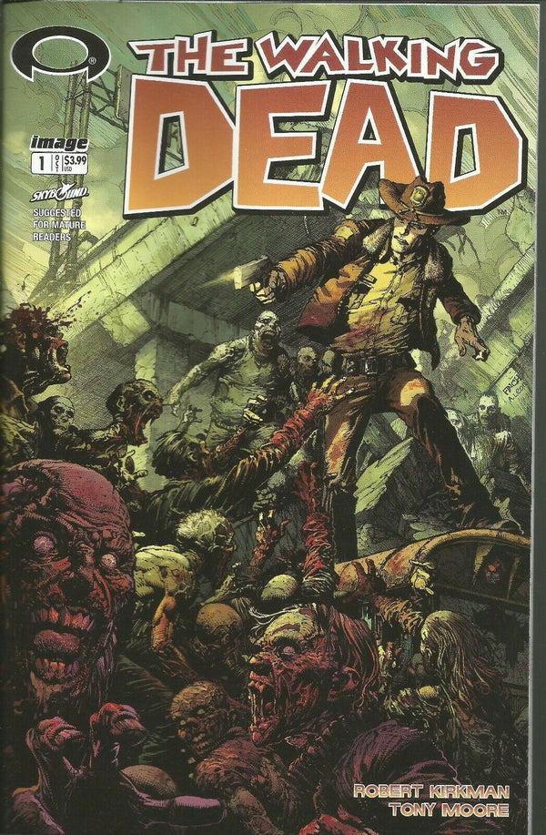 THE WALKING DEAD #1 DAVID FINCH VARIANT BLIND BAG COVER - Slab City Comics