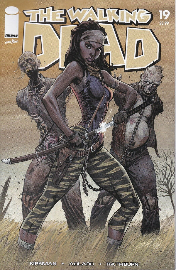 WALKING DEAD ISSUE 19 - 15th ANNIVERSARY BLIND BAG CAMPBELL COLOUR VARIANT - Slab City Comics