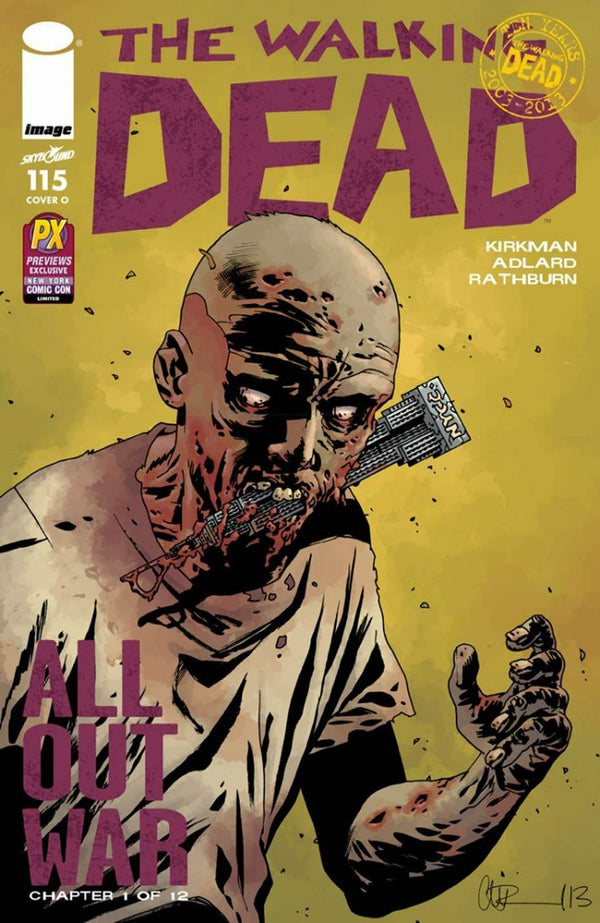 THE WALKING DEAD #115 PX EXCLUSIVE - Slab City Comics