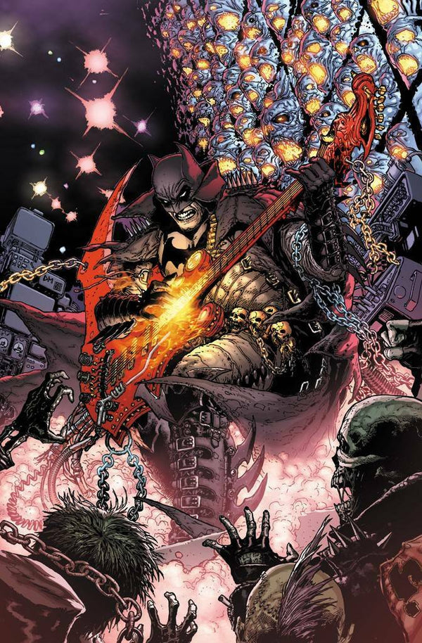 DARK NIGHTS DEATH METAL #1 (OF 6) 1:25 DOUG MAHNKE VARIANT,  - Slab City Comics - UK Comic Shop