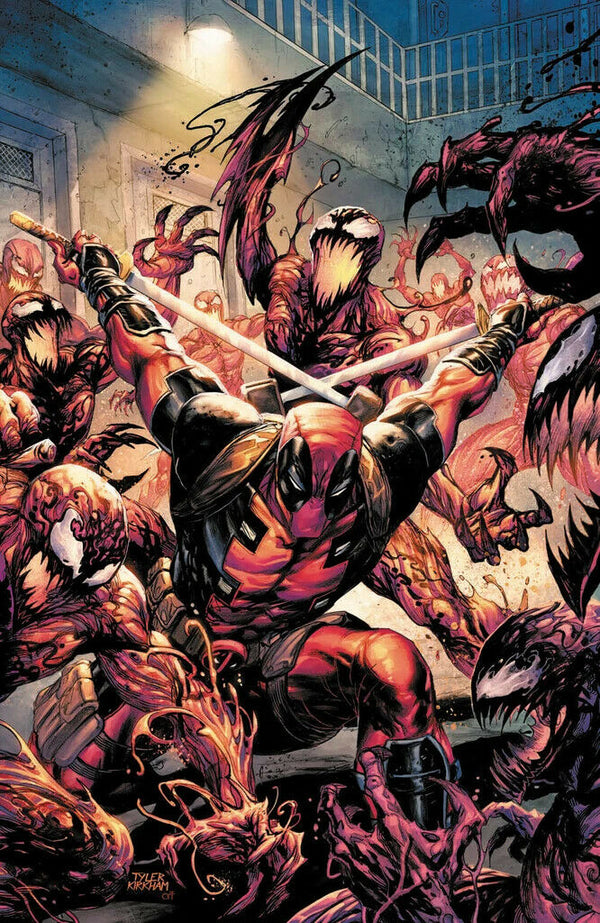 Absolute Carnage Vs Deadpool #1 Tyler Kirkham Virgin Cover,  - Slab City Comics - UK Comic Shop