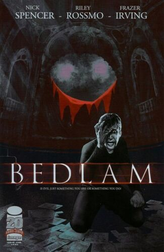 BEDLAM #1 - Slab City Comics