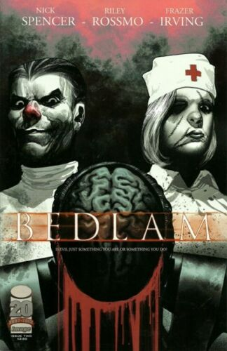 BEDLAM #2 - Slab City Comics