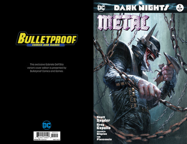 Dark Nights: Metal #5 color variant by Dell'Otto,  - Slab City Comics - UK Comic Shop