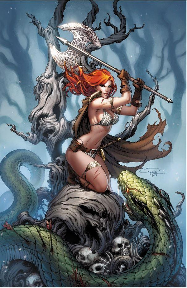 Killing Red Sonja #1 Sabine Rich Variant,  - Slab City Comics - UK Comic Shop
