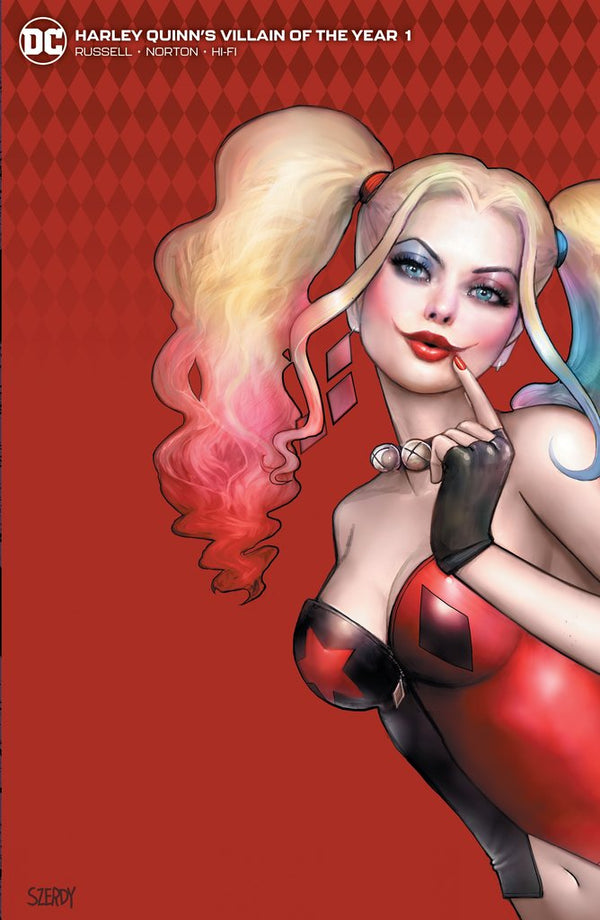 Harley Quinn Villain Of The Year #1 Szerdy Cover B,  - Slab City Comics - UK Comic Shop