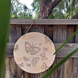 Butterfly Plaque - Promoting awareness of babies born still