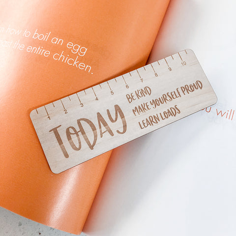 Motivational Ruler/Bookmark
