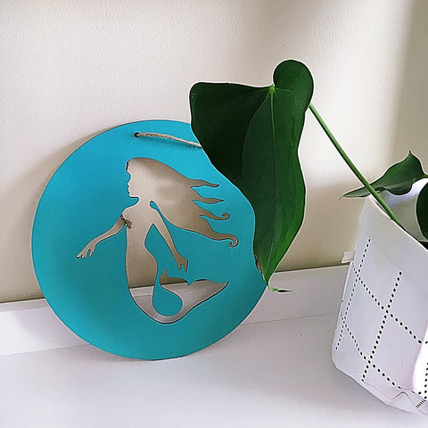 Mermaid Wall Plaque