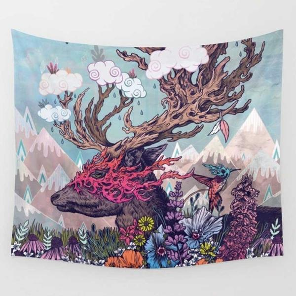 The Deer Tapestry - Mart Wind