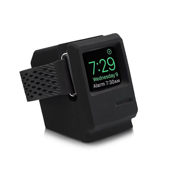 Macintosh styled Apple Watch stand