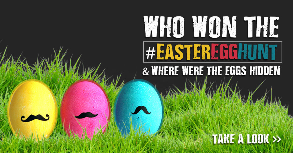 Who won the #EasterEggHunt & where were the eggs hidden?