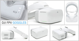 The new FPV Goggles from DJI
