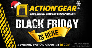 Black Friday Deals and Vouchers from Action Gear - 1 Day Only
