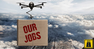 Drones are taking your jobs