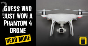 Guess who just won a Phantom 4 drone?