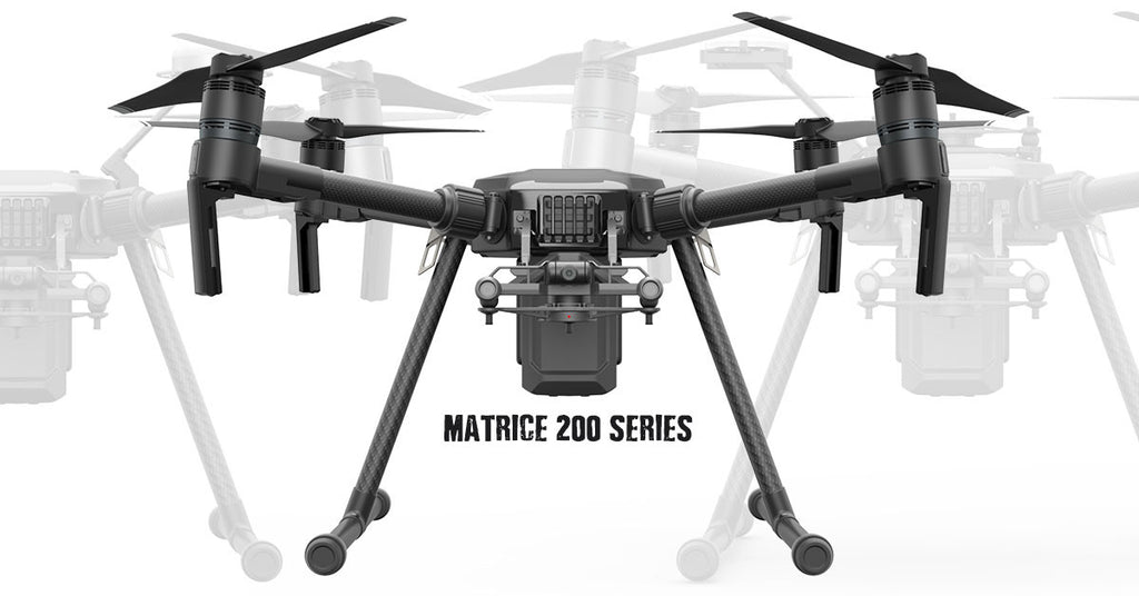 Gearing up for the Matrice 200 drone series.