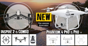 DJI launches the Inspire 2 and Phantom 4 Pro