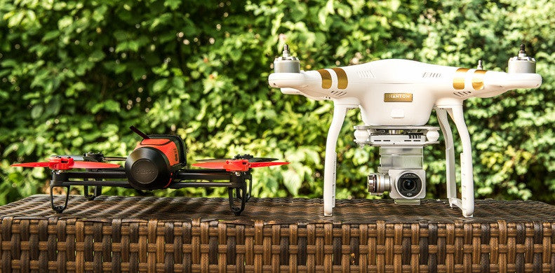 DJI Phantom 3 VS Parrot Bebop