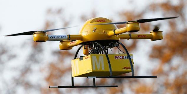 DHL Germany Testing Delivery Drones