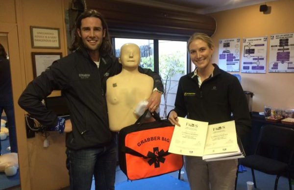 The Kernes Are First Aid Level 1 Certified