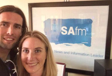 Interview With Jon Gericke On Safm 105.1 [Podcast]