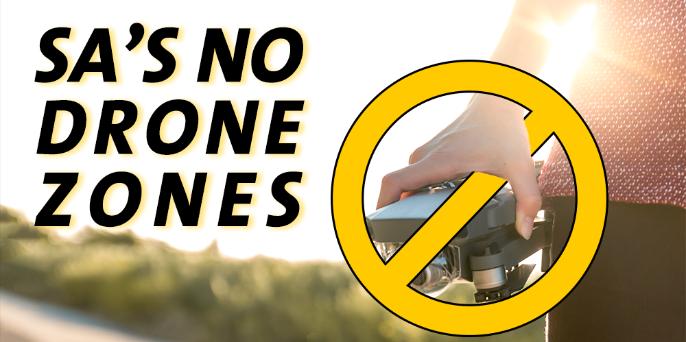 south africa drone no fly zones