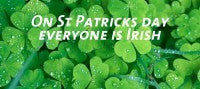 Lucky You! It's St Patricks Day