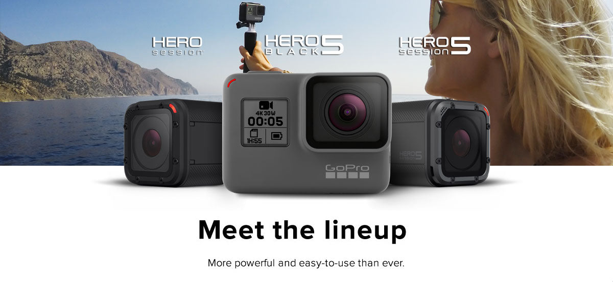 GoPro header Hero 5 Family