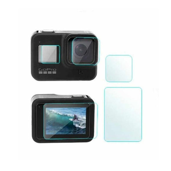 [product-type]-Gopro Accessory Glass Screen Protector Hero8 - Action Gear