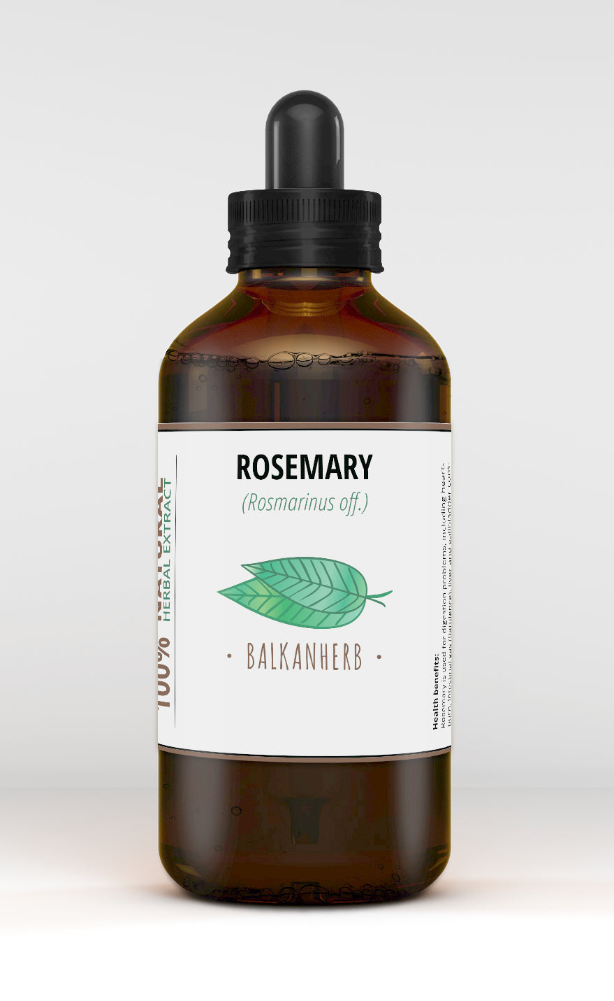Rosemary Tincture - Rosmarinus officinalis - Organic herb drops - Extract - F/S