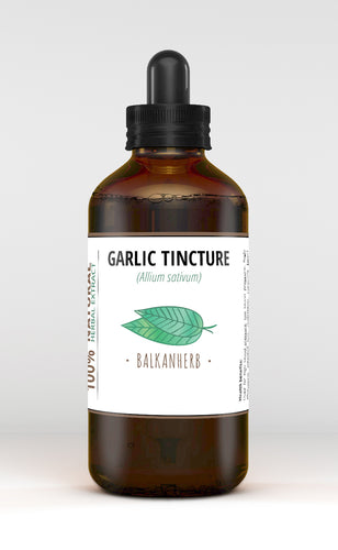 Garlic Tincture - Organic herb drops - Extract