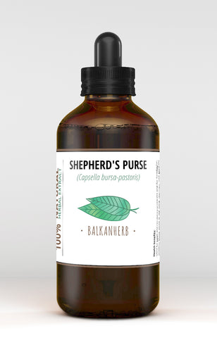Shepherd's-purse Tincture - Organic herb drops - Extract