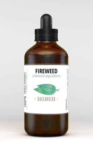 Fireweed Tincture - Chamerion angustifolium - Organic herb drops - Extract - F/S