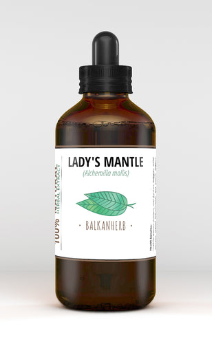 Lady's Mantle Tincture - Organic herb drops - Extract
