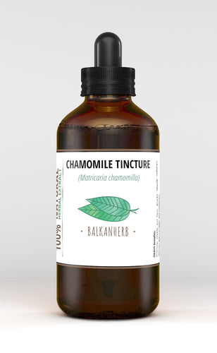 Chamomile flower Tincture - Organic herb drops - Extract