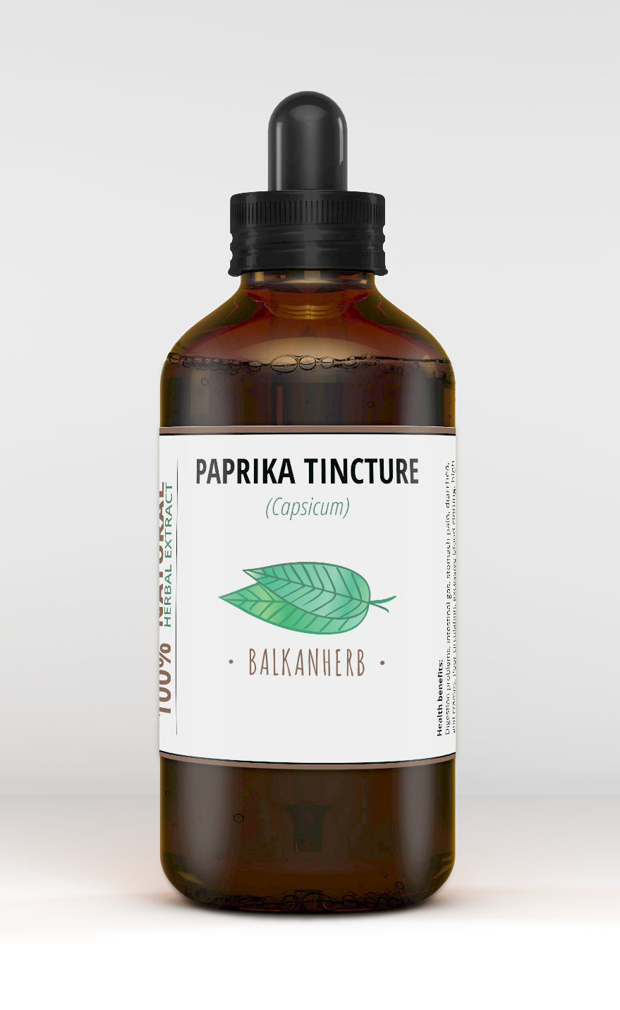 Paprika Tincture - Red pepper - (Capsicum) - Herb drops - Herbal extract