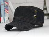 TC103 Brim&Brawn Army Cap  Blue Denim