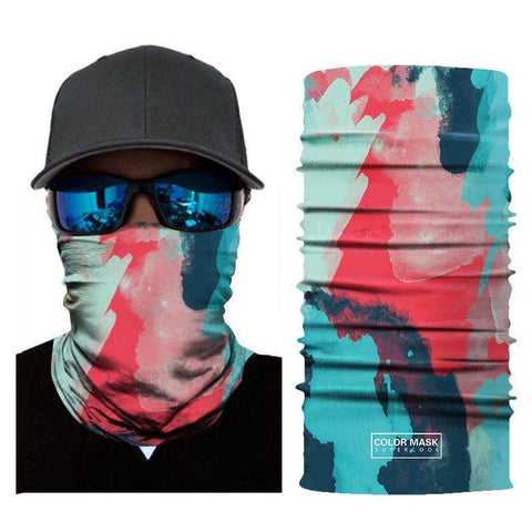 Multifunction Face Cover Bandana Headband Sun UV Protection Dustpoof Windproof Breathable Outdoor Riding FS104-02