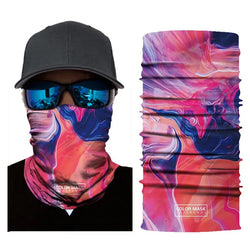 Multifunction Face Cover Bandana Headband Sun UV Protection Dustpoof Windproof Breathable Outdoor Riding FS104-12